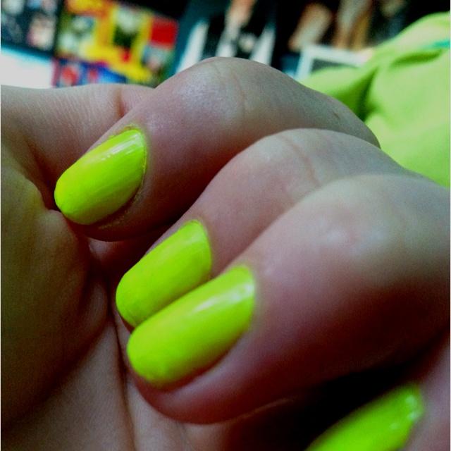 49 best Neon Nail Polish images on Pinterest   Nail polish, Bright ...