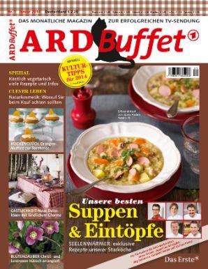 ARD Buffet Magazin 1/2014 Suppen & Eintöpfe