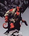 What is the similarity between Hellboy and Lionman?