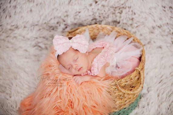 SALE-baby girl lace romper newborn lace romper baby lace