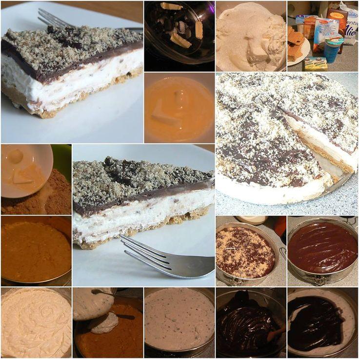Cheesecake stracatella