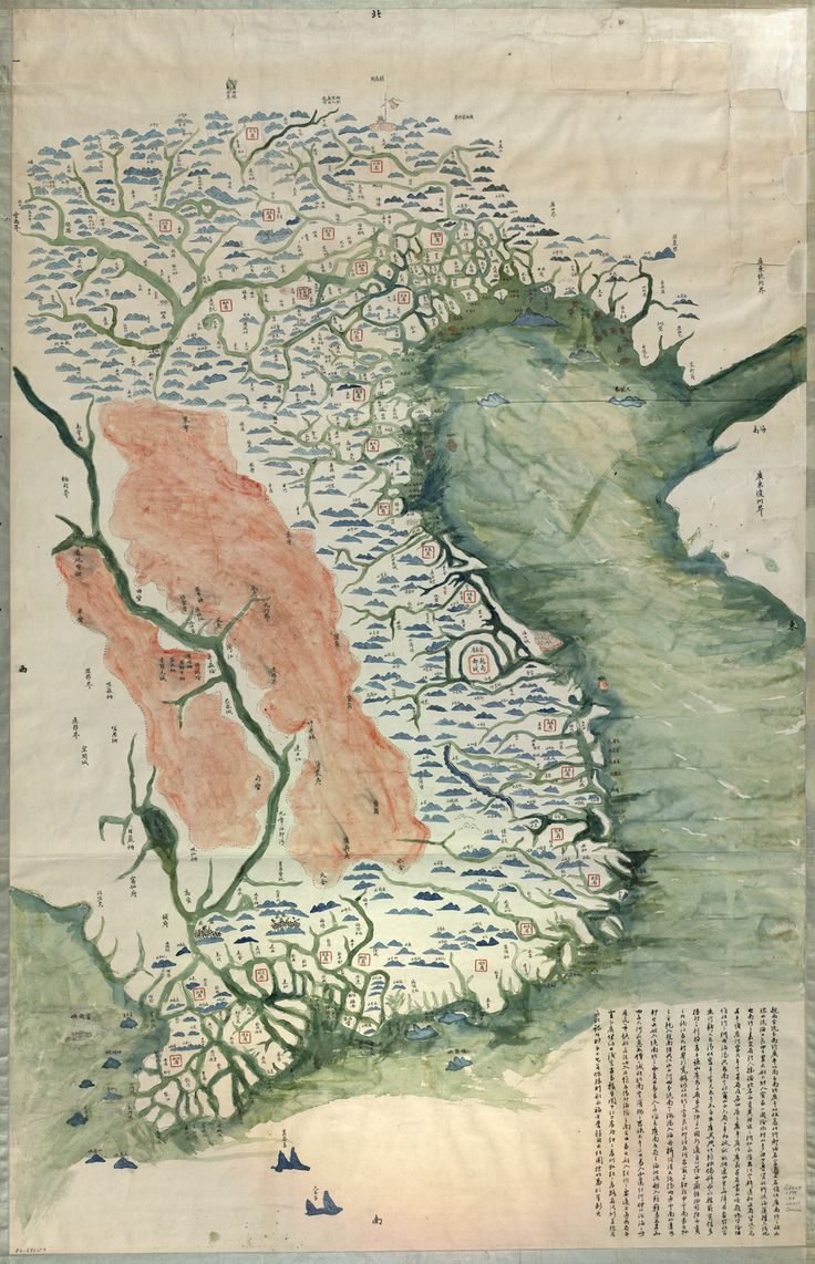 Comprehensive Map of Vietnamu0027s Provinces c1890 362