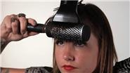 How to Curl Bangs With a Blow Dryer