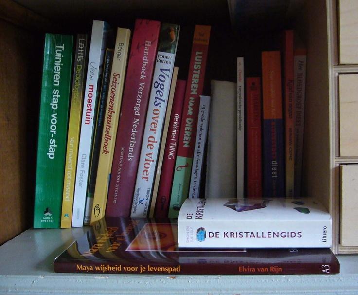 In de boekenkast van Margriet Kraan