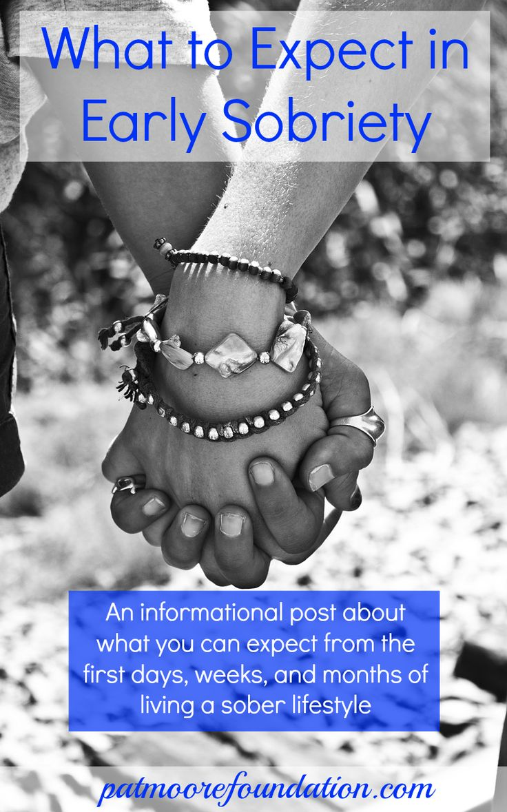 Learn what the first days, weeks, and months are like for someone who's in early sobriety. Whether it's you who is getting sober or a family member or friend, this information can give you some helpful insight #addiction #recovery #sobriety #soberlife #alcoholism   Pat Moore Foundation Treatment Center