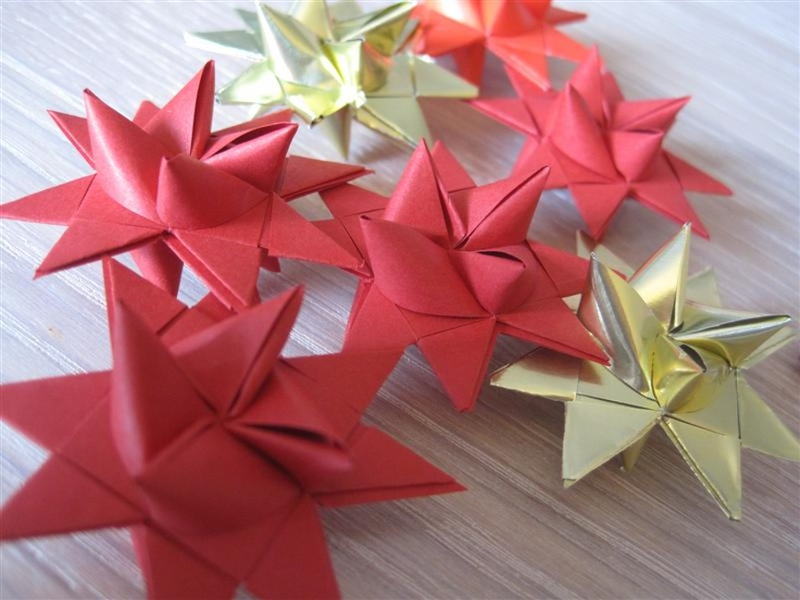 Weaved Christmas Stars