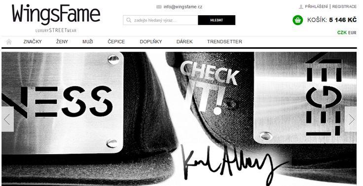 Wingsfame.cz - luxury streetwear shop nejen se snapback kšiltovkama (ty s rovným kšiltem) - http://www.wingsfame.cz/ksiltovky-snapback/