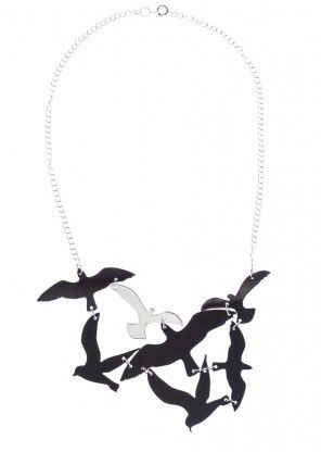 "KiviMeri ""Lintu"" Birds #necklace. | KiviMeri.com"