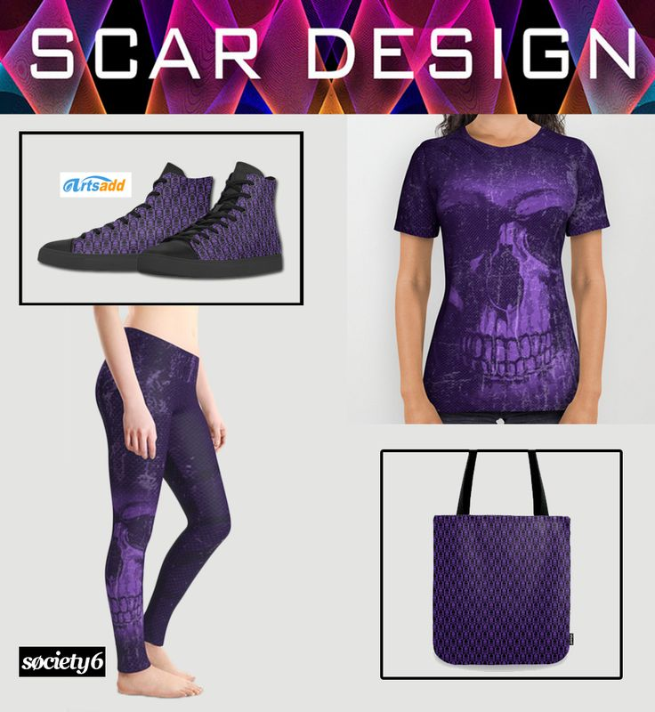 Gothic-Rock style Clothing, Shoes & Tote Bag Set for Women by Scar Design.For T-shirt and Accessories buy here: https://society6.com/product/dark-embrace-qby_all-over-print-shirt#s6-4647412p44a57v420   #skulltotebag #skullleggings #skulltshirt #hitop #sneakers #rockshoes #rockhitopshoes #gothicshoes #buywomensshoes #gothicgifts #goth #society6  #artsadd #buyshoes #buyboots #scardesign #fashion #style #giftsforher #skulls #purple #skullshoes #skullssneakers #skullhitops #womensfashion…