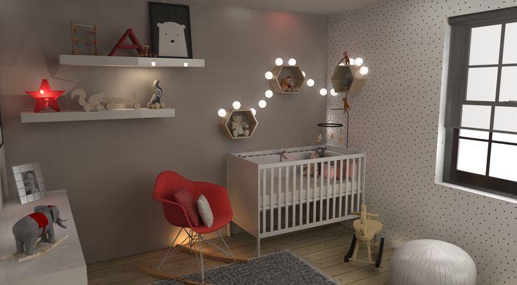 Chambre de bébé par Q-bik / Baby's room by Q-bik