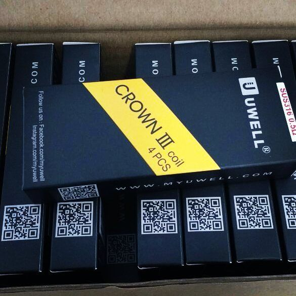 Uwell Crown 3 coils in stock now @vaporaecigs #aussievapers