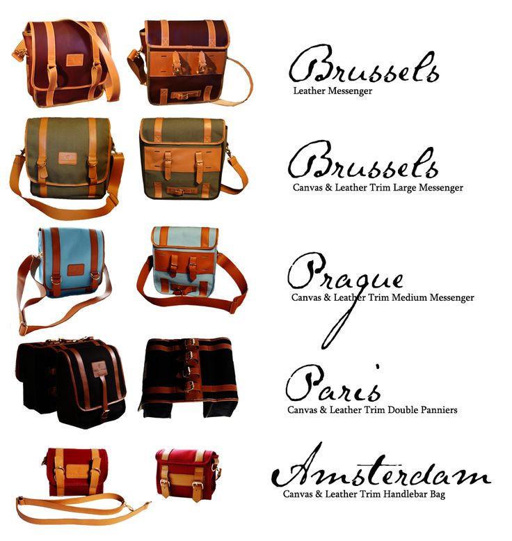 Perhaps the coolest bicycle bags ever! #Bikes #Bicycles #BikeBags
