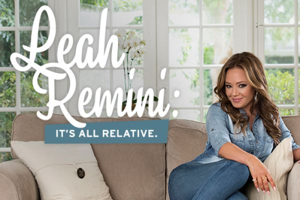 Leah Remini: It's All Relative  I enjoy watching this show because it comes across as real and not staged.