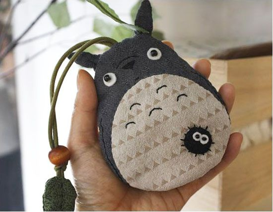 고슴도치 퀼트 [검댕이 요정과 토토로 키홀더]