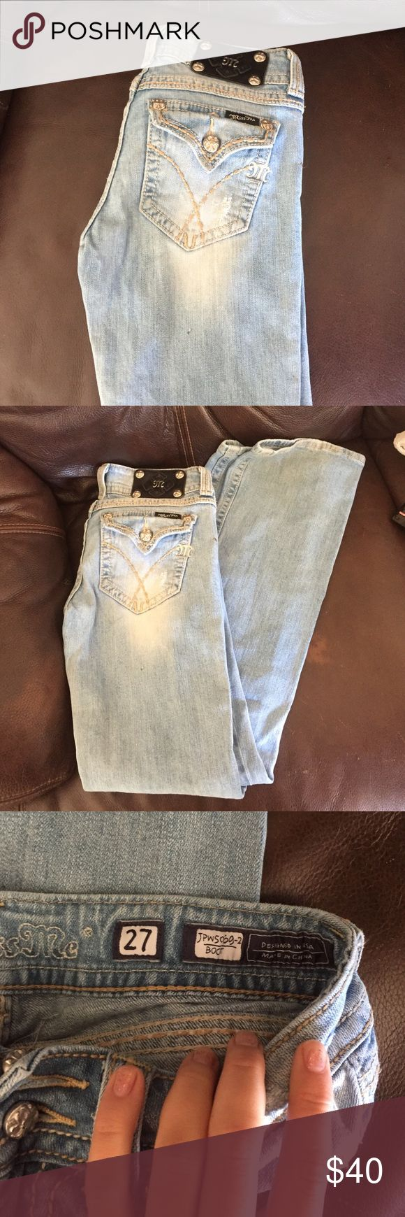 27 miss mes Light wash miss mes Miss Me Jeans Boot Cut