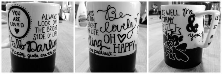 """Create Your Own"" Starbucks Mug"