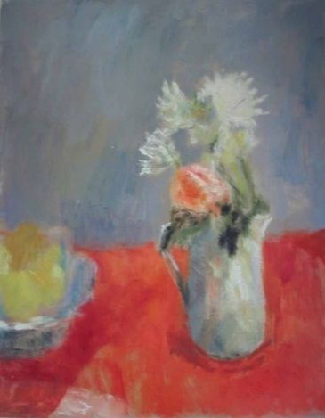 Alice Mumford The Red Cloth and Yellow/Green Pairs