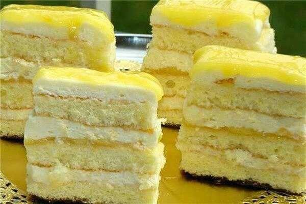 Ніжний лимонний торт : Ням ням за 5 хвилин