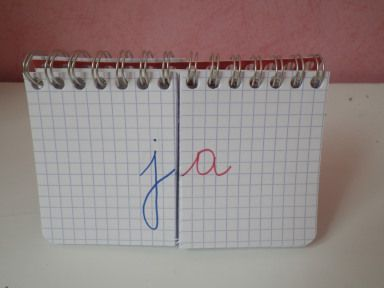 Carnet des syllabes