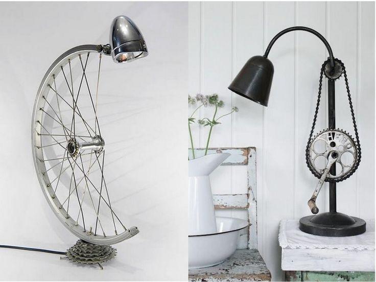 Aprovecha al máximo esa bicicleta que ya no usas y dale un toque diferente a tu hogar