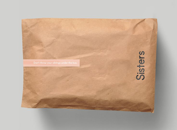 "An identity design project for the fashion brand ""Sisters""— a sartorial…"