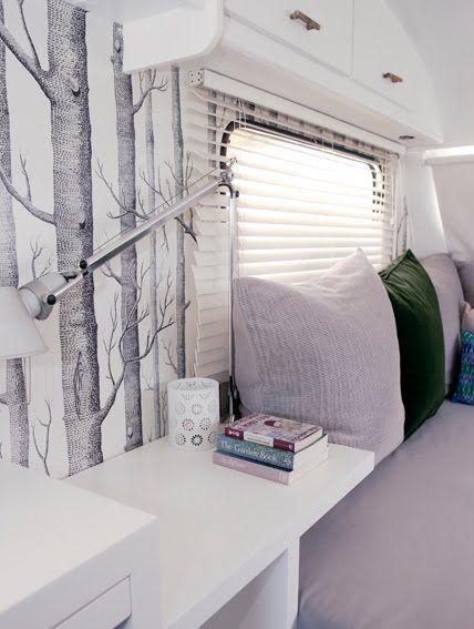 Super Cool and Practical Caravan Interior Design