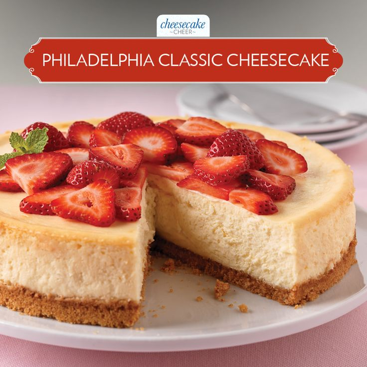 Repin if you think there's nothing like this Classic creamy Cheesecake! #CheesecakeCheer