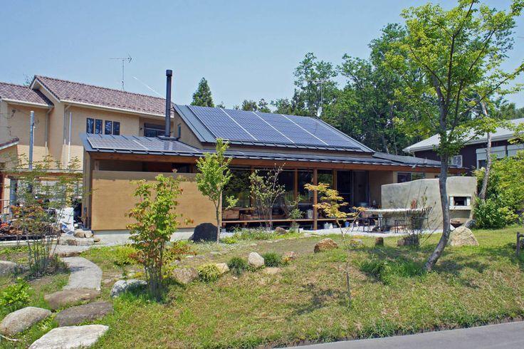 環境創作室杉 の オリジナルな 家 大井の平屋
