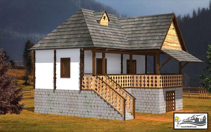 case taranesti peasant houses 9