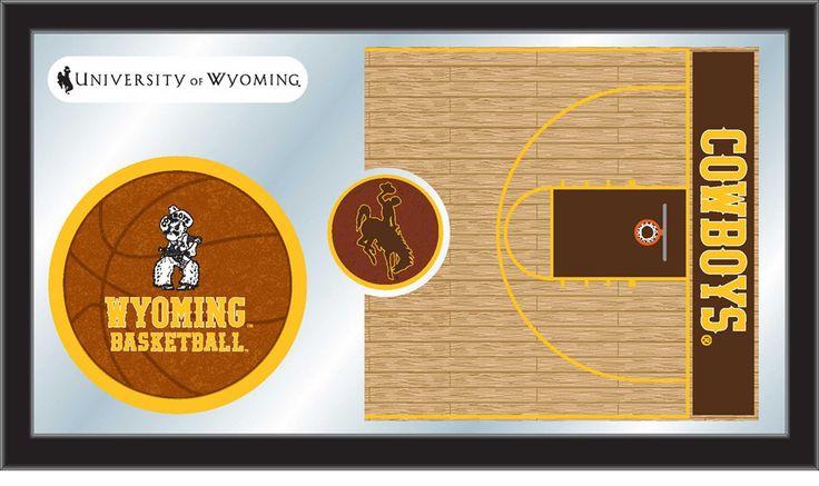 Basketball Mirror - University of Wyoming
