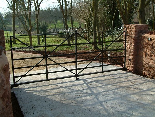 Farm Gates Metal | Estate Gates,Farm Gates,Electric,Somerset