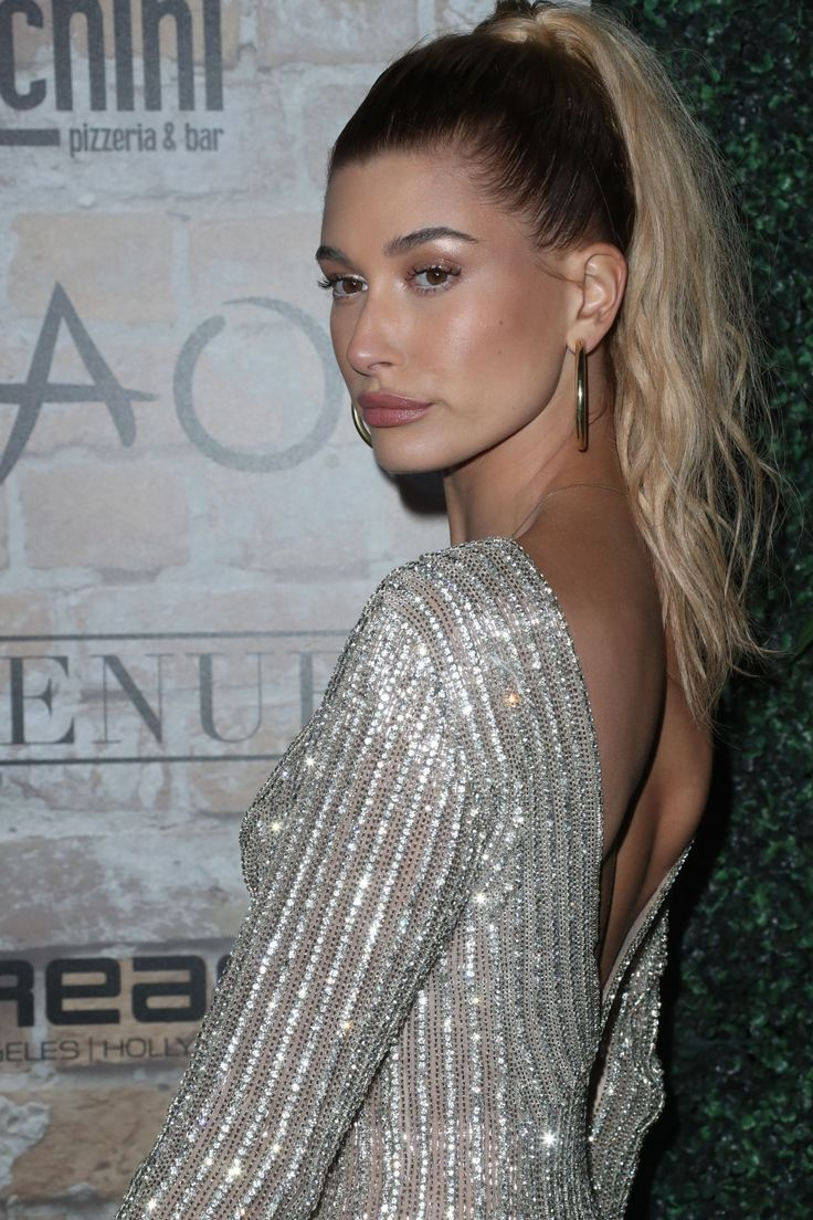 Hailey Baldwin || Tao Group Grand Opening Block Party in Hollywood (March 16, 2017)