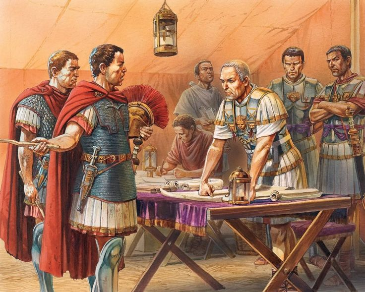 Caesar at the Battle of Alesia