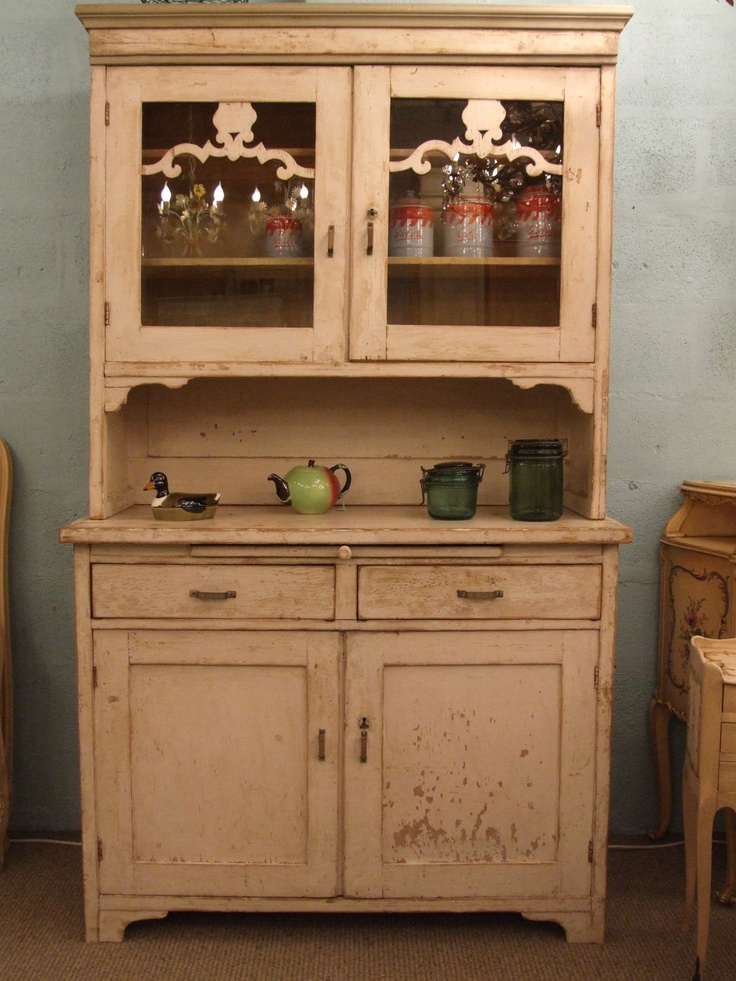 f475 vintage continental kitchen dresser in original paint - Kitchen Dresser