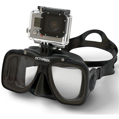 Use Your GoPro Hands-Free with the Octomask! - http://aquaviews.net/scuba-gear/gopro-handsfree-octomask/?utm_source=Pinterest&utm_medium=LeisurePro+Pinterest&utm_campaign=SNAP%2Bfrom%2BAquaviews+-+SCUBA+Blog