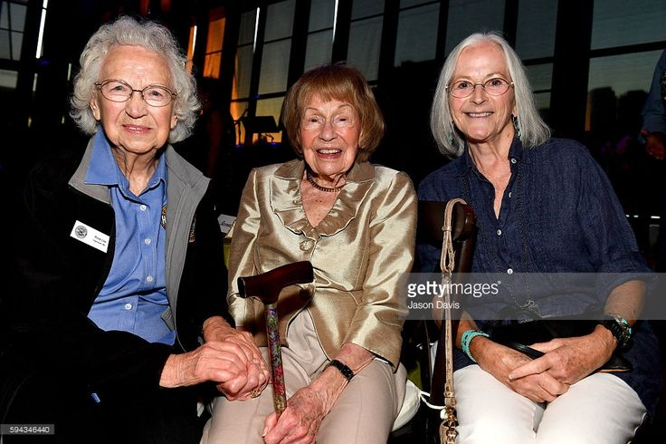 Rose Lee Maphis, Jo Walker-Meador, and Bonnie Garner attend the debut of the 'Alabama: Song of the South' exhibition at Country Music Hall of Fame and Museum on August 22, 2016 in Nashville, Tennessee.
