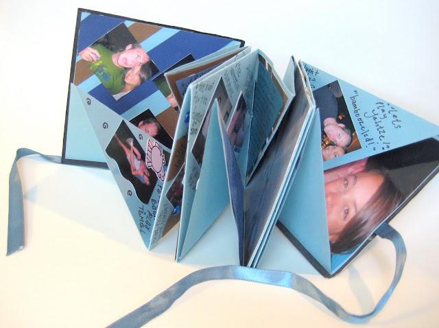 mini scrapbooks...