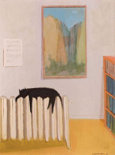 Herman Meril  Languid Cat