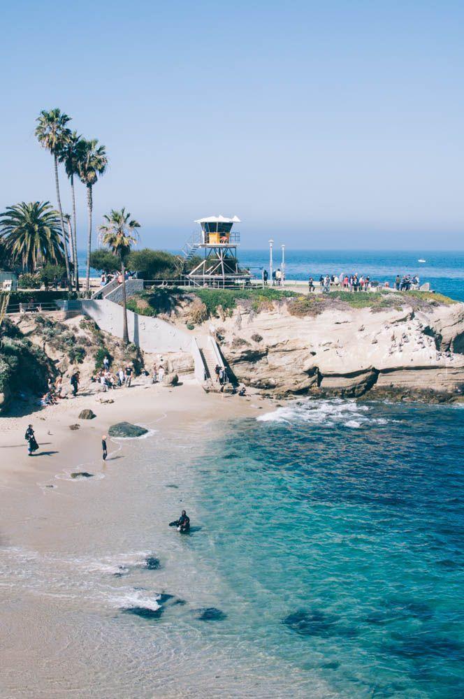 La Jolla Cove, San Diego, California, USA