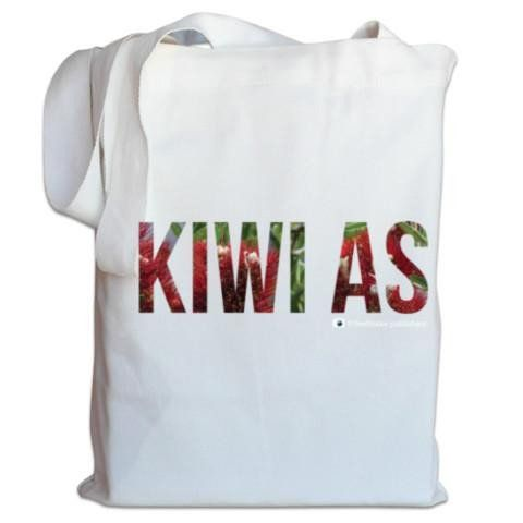NZ Canvas Bag - NZ Pohutukawa Kiwi As - Photo