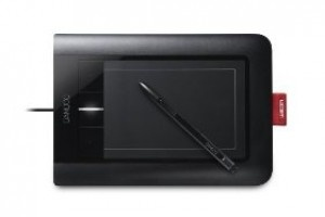 Wacom Bamboo Pen and Touch Fun Small Tablet
