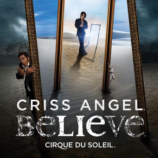 Criss Angel Believe   Las Vegas Show at Luxor   Cirque du Soleil   Showing at The Luxor