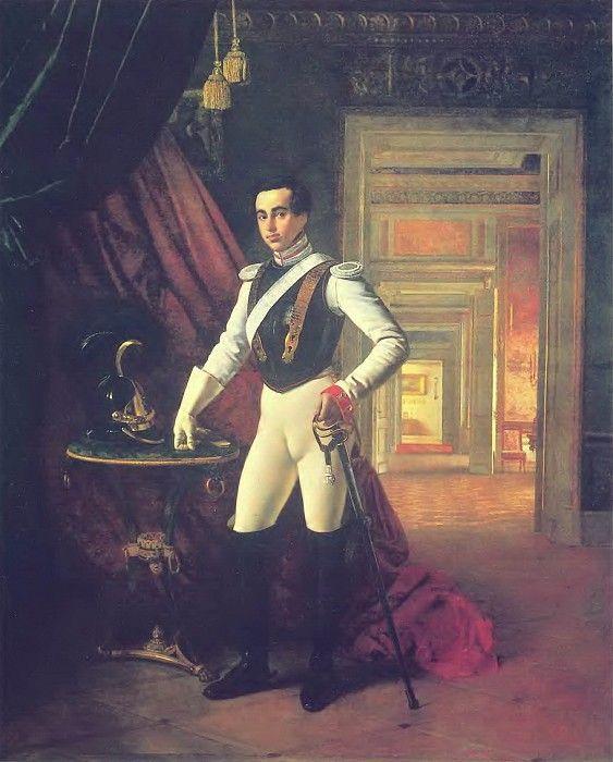 Портрет графа Д. Н. Шереметева. 1824