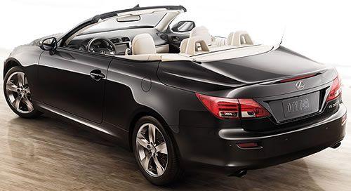 Lexus IS 350 C  $45,840