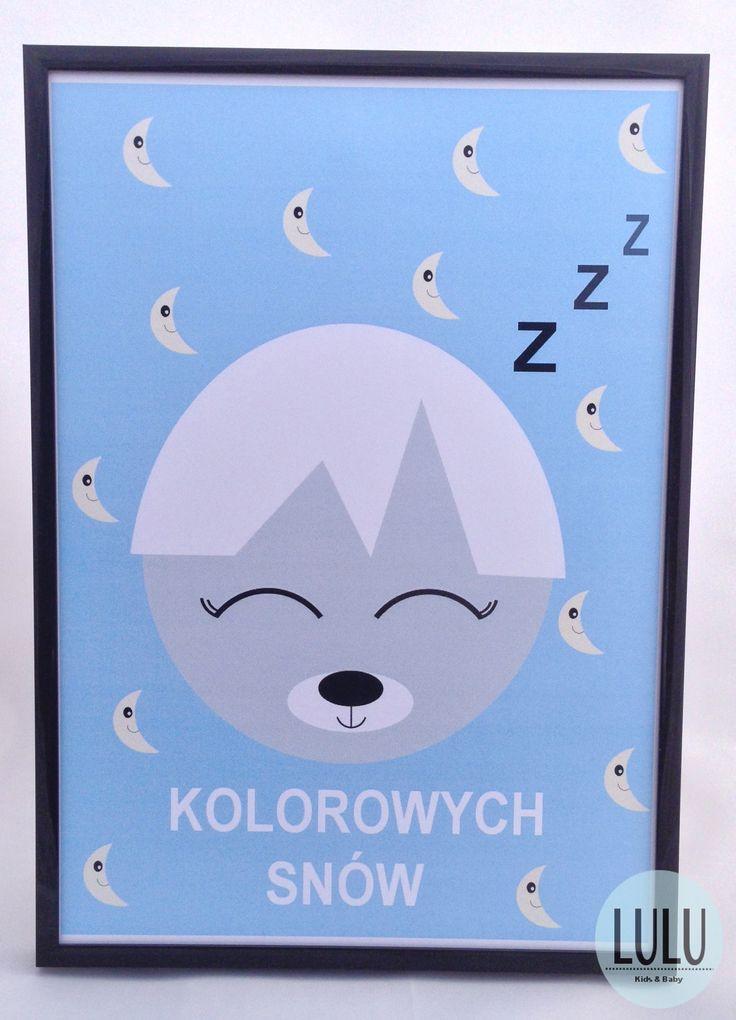 Poster 'Sweet dreams' / Plakat 'Kolorowe sny'