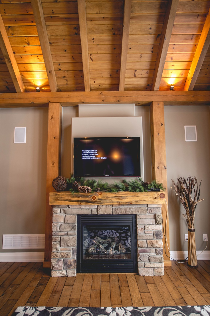 Gas Fireplace And Mantel Package - WoodWorking Projects ...