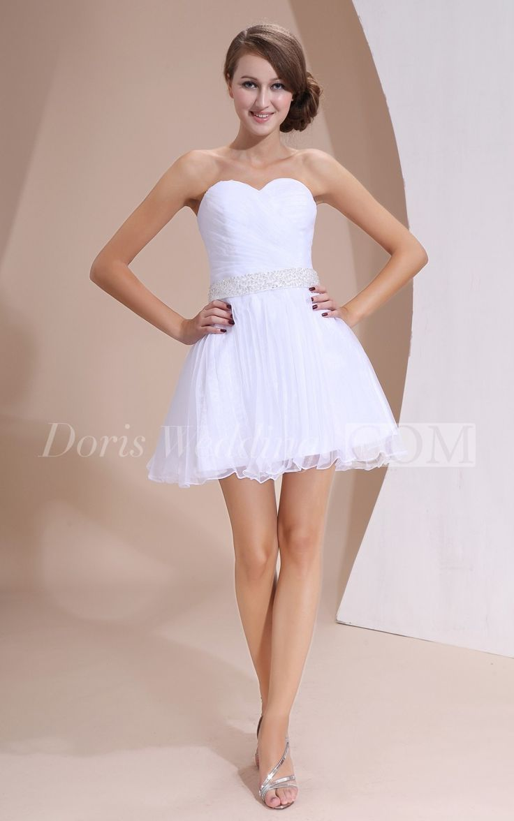 Organza Sweetheart Dress With Ruching And Belted Waist Cocktail Party DressesCocktail PartiesCocktailsWedding Reception DressesLace