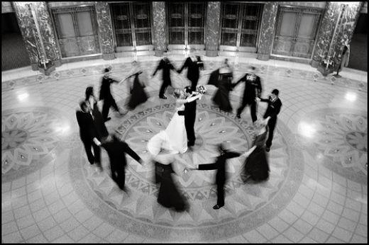Greek wedding customs - Dancing is an important part of Greek weddings.