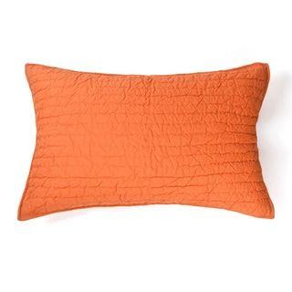 Brighton Persimmon Cotton Sham | Overstock.com Shopping - The Best Deals on Pillowcases & Shams
