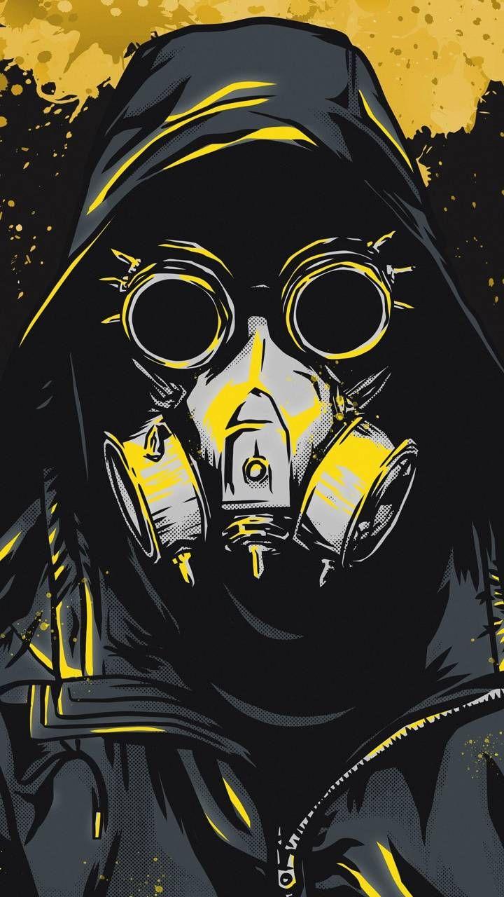 Download Mask Art Boy Wallpaper By Amazingwalls 86 Free On Zedge Now Browse Millions Of Popular Art Steampunk Wallpaper Gas Mask Art Graffiti Characters